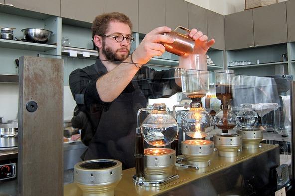Cafeteras extravagantes - cafetera de vacío