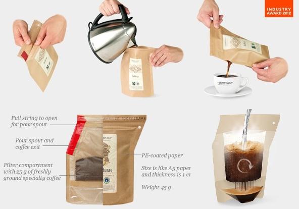 Coffeebrewer, café y cafetera para llevar