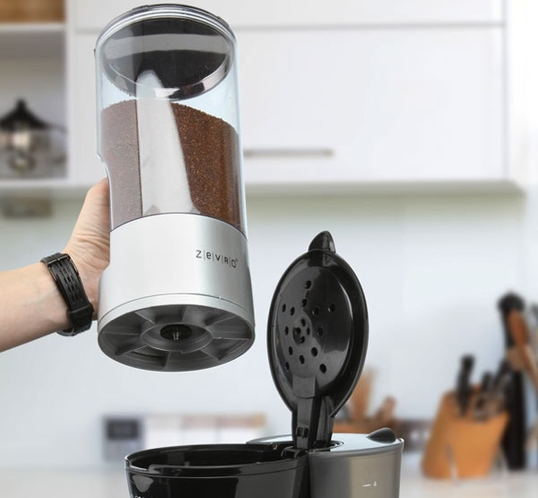 Dispensador hermético de café