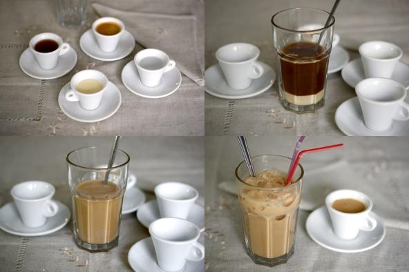 Cóctel de café - instrucciones