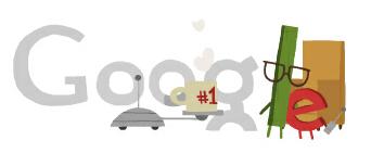 El café en uno de los doodle de Google