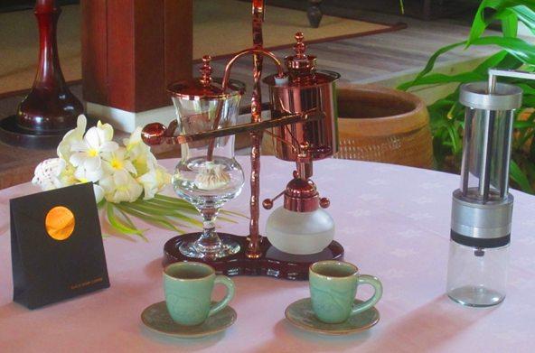 Cafetera vienesa del siglo XIX