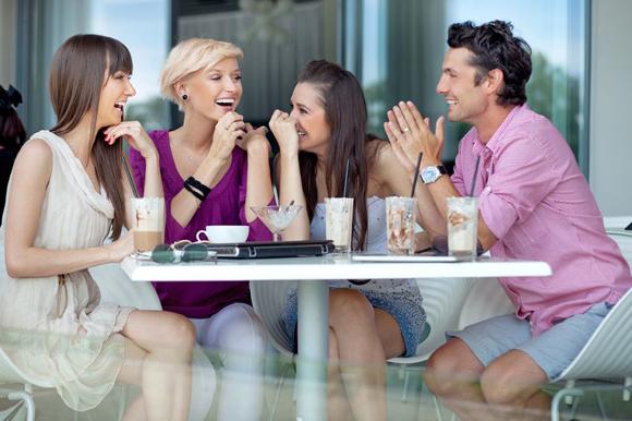 Cafe y amigos