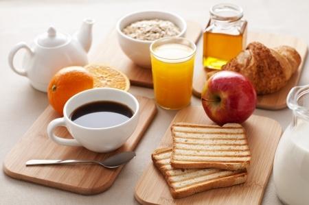 Cafe y desayuno