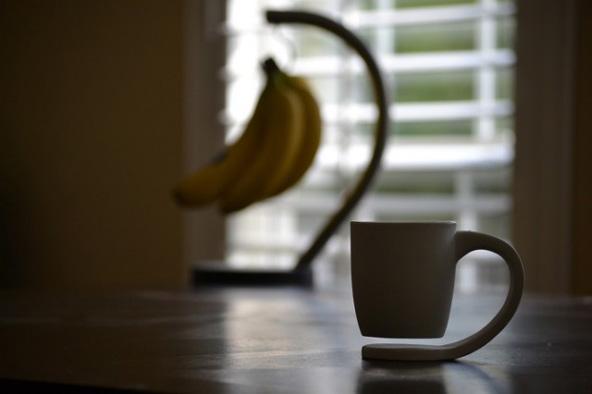 Taza de café flotante 2